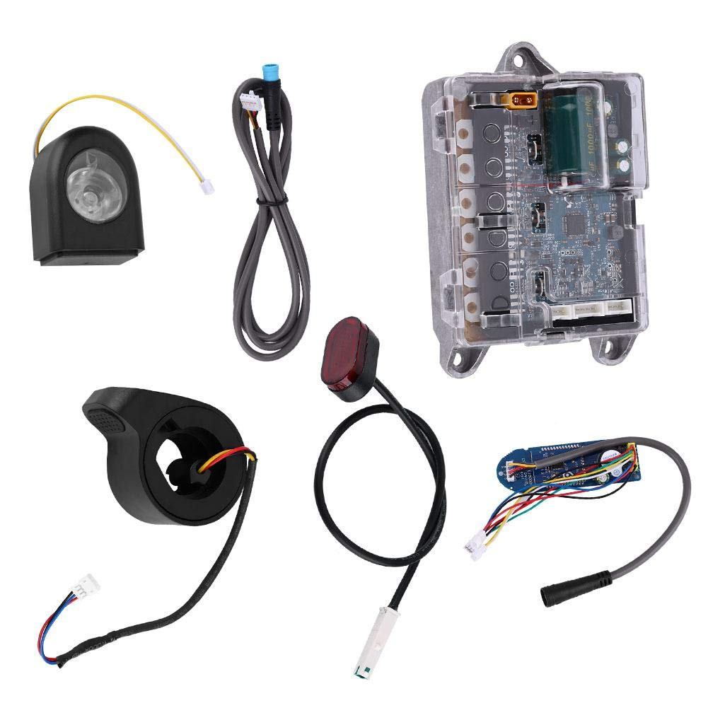 SolUptanisu Electric Scooter Main Board Motherboard Headlight Taillight Throttle for XIAOMI Ninebot Scooter
