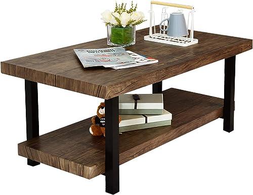 AmazonBasics Wooden Bookshelf, 3 Adjustable Shelves