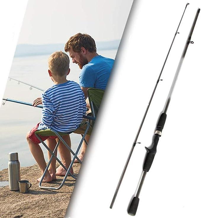 GWFISH Canne a Peche Silure Surfcasting Spinning Truite Fishing Rod Carpe T/élescopique Portable 99/% Carbone Casting Carnassier Ultra L/éger P/ôle de P/êche pour leau Sal/ée et deau Douce