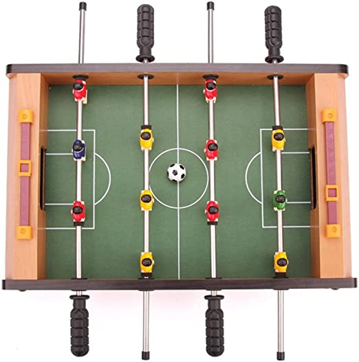 Househome Mini Mesa de futbolín, Mesa de Madera de fútbol para ...