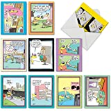 M6465OCBsl Doggone Funny Mccoy: 10 Assorted Blank All-Occasion Note Cards Featuring an Assortment of Favorite and Funny Cartoons by Glenn McCoy, w/White Envelopes.