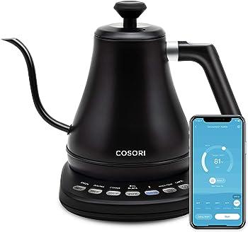 Cosori Smart Electric 0.85-Quart Gooseneck Kettle