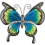 Regal Art & Gift 12353 - Decoración para Pared, diseño de Mariposas, Color Verde