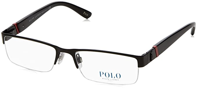 66da38e0913 Polo Ralph Lauren Ph 1117 Eyeglasses Matte Black 54Mm  Amazon.co.uk ...