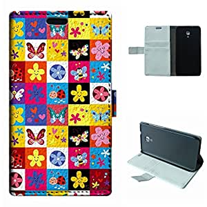 SoloShow® New Alcatel One Touch Idol 2S 6050Y 6050A 6050F Case Colorful Cute cartoon images pattern Luxury Wallet PU Leather Case Flip Cover Built-in Card Slots & Stand Cover