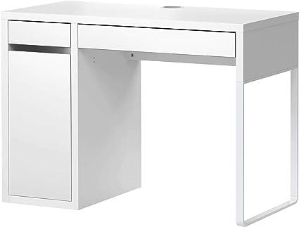 Ikea Micke Bureau Bureau Blanc 105 X 50 Cm Amazonfr