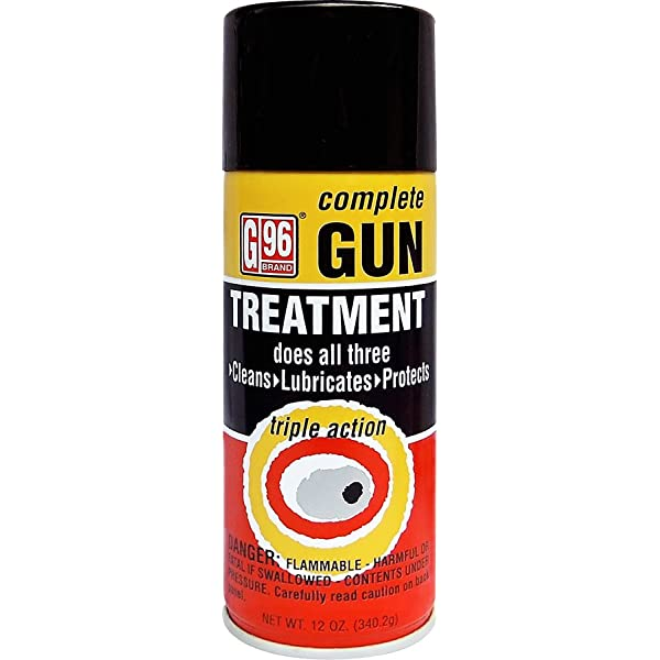 G96 Large Lubricant Cleaner Gun Glossy Decal Sticker Firearms USA Gun Shooting