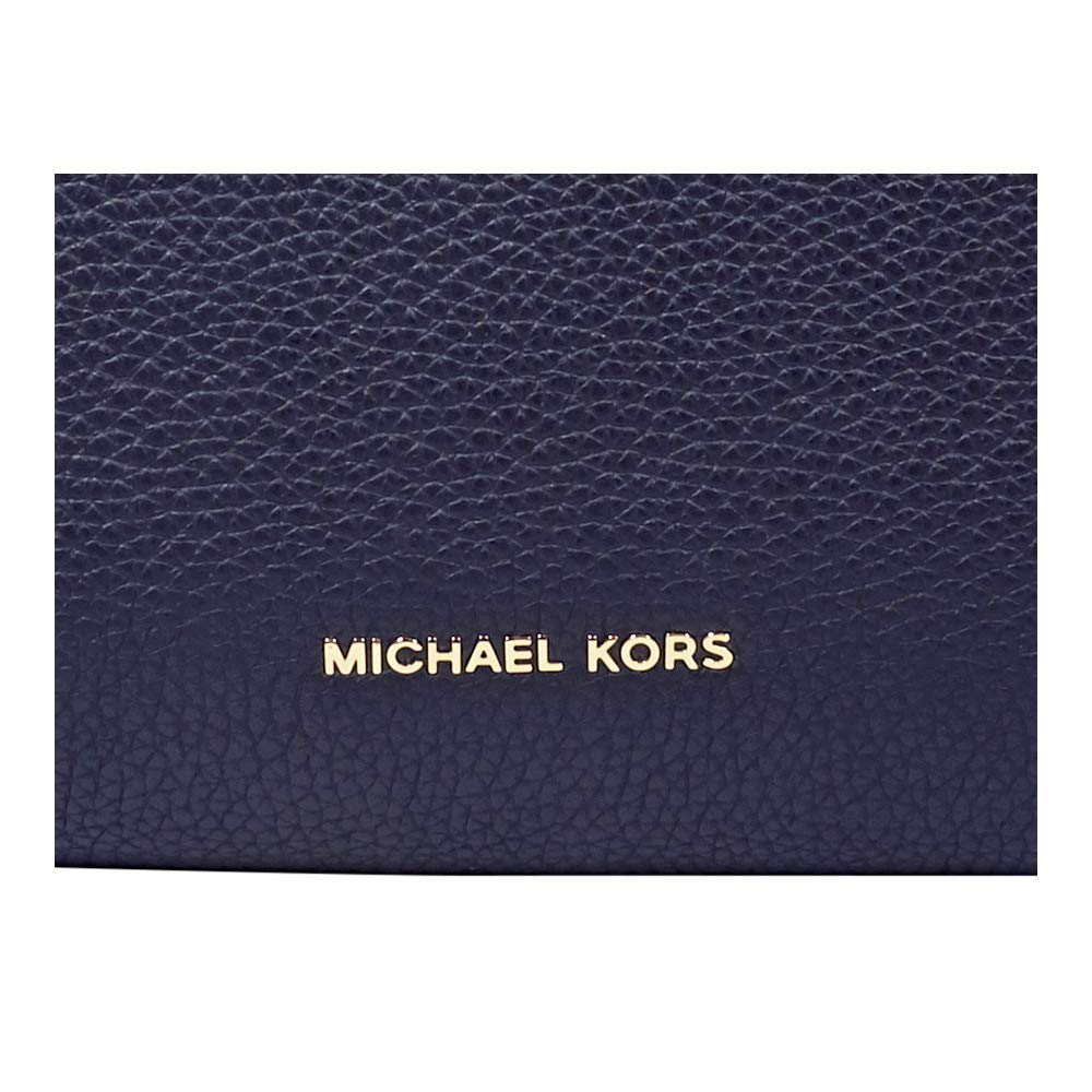 28e46b72fec08 Michael Kors Large Rollins Admiral Pebbled Leather Satchel Bag Navy Leather   Amazon.co.uk  Shoes   Bags