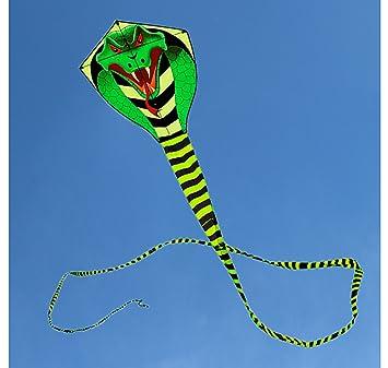 Groß drachen für kinder und erwachsene drachen einleiner,cobra kite mit lange Spielzeug für draußen
