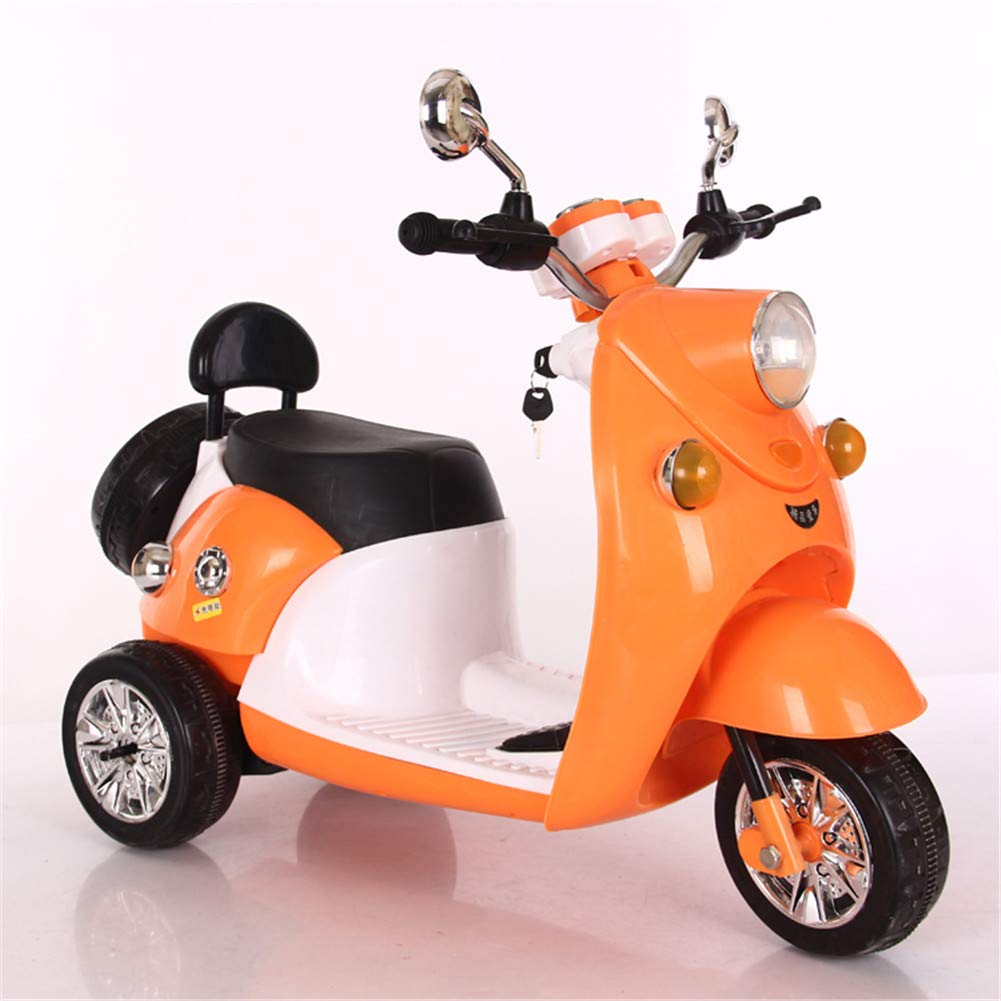 Amazon.com: Lvbeis Kids Ride on Motorcycle, 3 Ruedas ...
