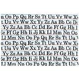 Sugarbooger Tabletop Splat Mat, Vintage Alphabet (Discontinued by Manufacturer)