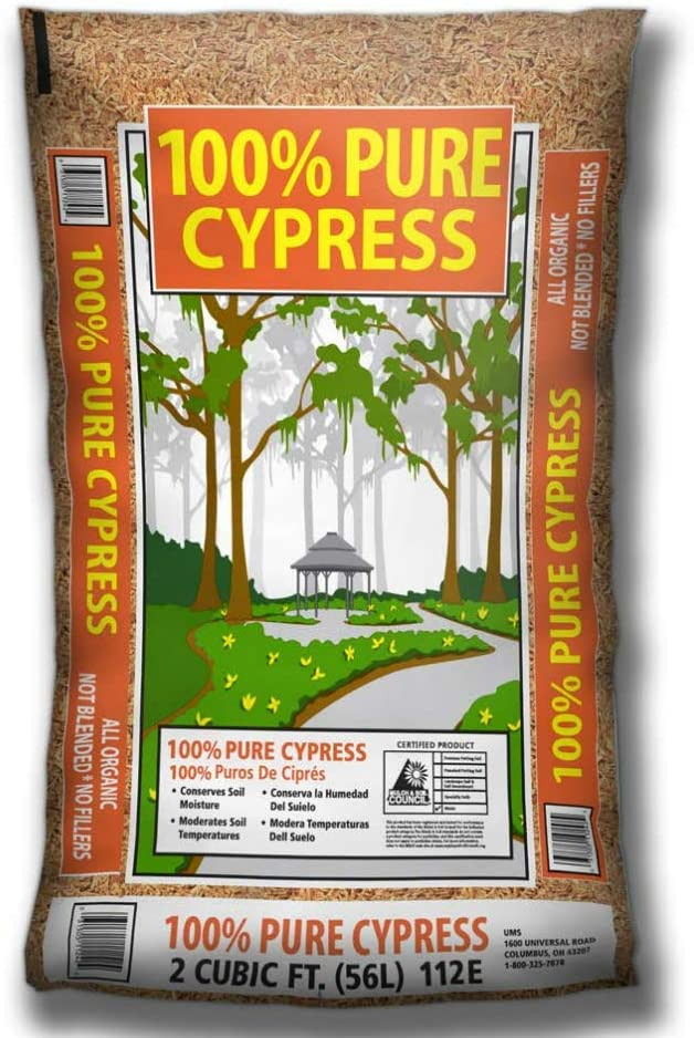 Ohio Mulch 112e Estate Premium 100% Pure Cypress Mulch, 2 Cu.ft.
