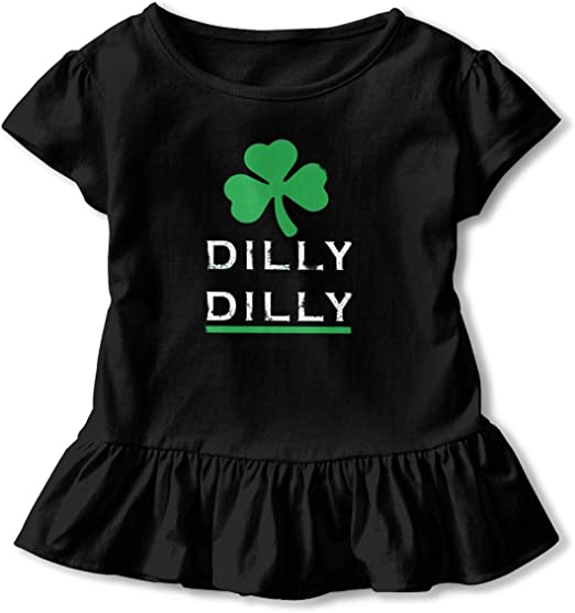 Patricks Day Dilly Dilly Shamrock Toddler Sweatshirt Old Glory St