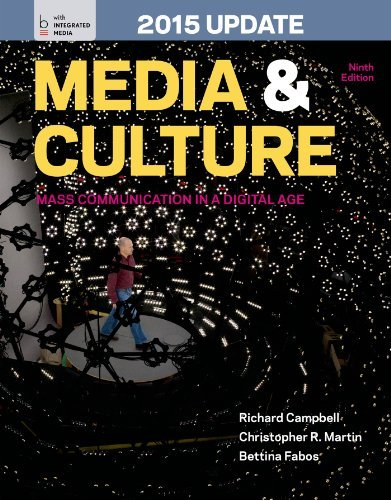 By Richard Campbell - Media and Culture with 2015 Update: An Introduction to Mass Commu (Ninth Edition) (2014-03-13) - Mall Bedford Stores