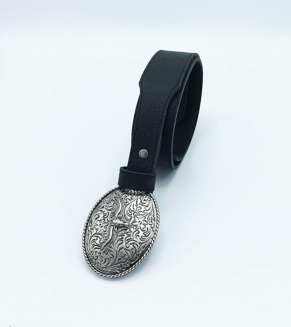 RIX CA662 Womens Casual 100/% Full Grain Real Leather Belt 1 1//2 Width