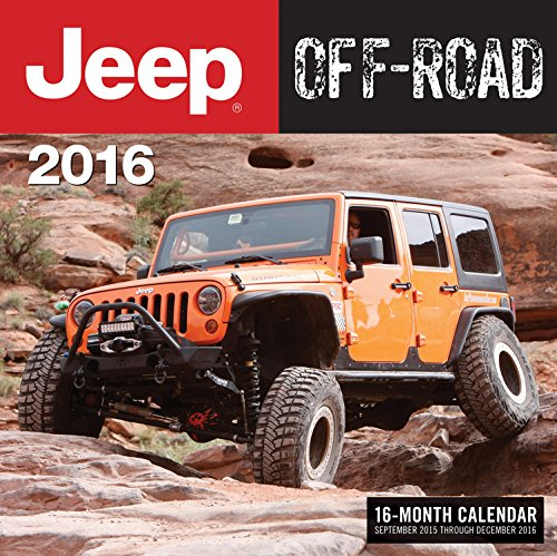 Jeep Off-Road 2016: 16-Month Calendar September 2015 through December 2016