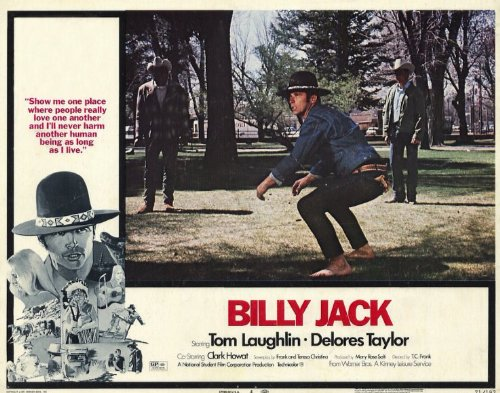 Billy Jack POSTER Movie (1971) Style D 11 x 14 Inches - 28cm x 36cm (Tom Laughlin)(Delores Taylor)(Clark Howat)(Bert Freed)(Julie Webb)(Victor Izay)(Teresa Kelly)