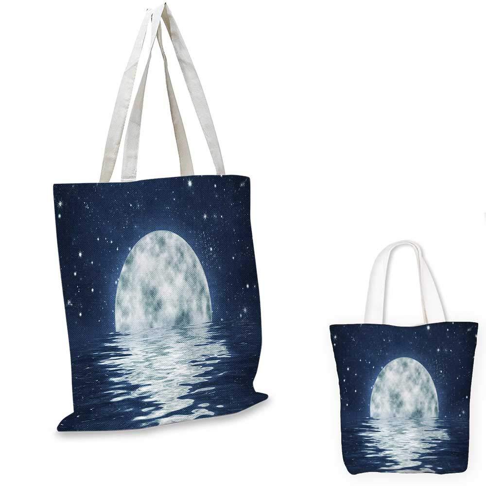 MoonCloudy 空のイラスト 月と星 夜の宇宙 コズミック ユニバースプリント イエローパープル 14