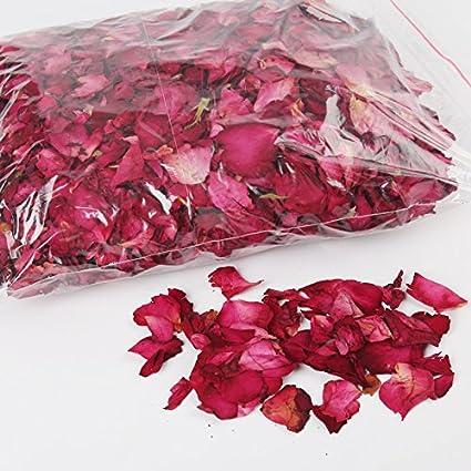 3,5 oz Seca pétalos de rosa Natural para Boda Confeti De La ...