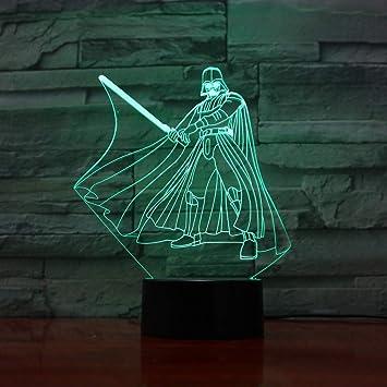 Novela lámpara Yoda luz de Noche lámpara de Mesa luz de Noche para ...
