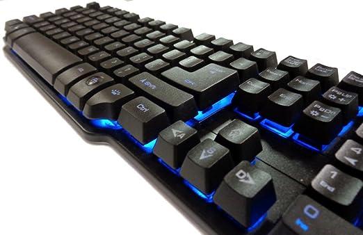 6 opinioni per Cortek CORGK1 Tastiera Gaming a Pistoni, GK1, Backlight a 7 Colori