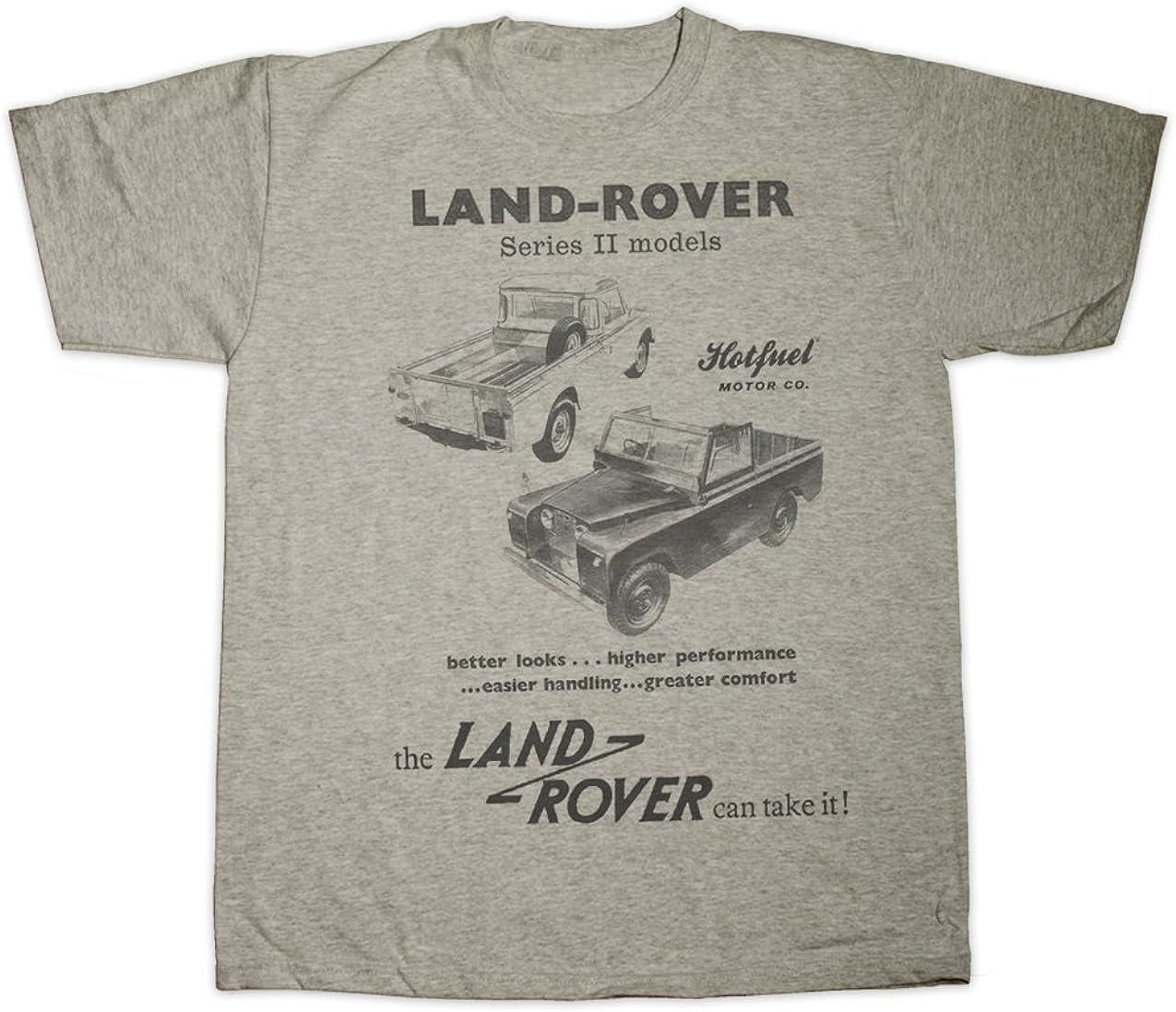 Hotfuel Series 2 Land Rover mod/èles Print T-Shirt Toutes Les Tailles