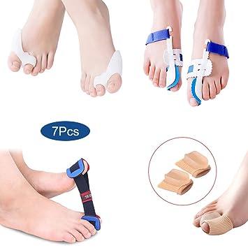 Symboat - Kit de corrector de juanetes para aliviar el dolor de dedos de los pies de Hallux Valgus: Amazon.es: Belleza
