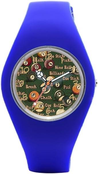 Reloj Muñeca Billar Bolas de Billar Reloj de Pulsera para Las Mujeres