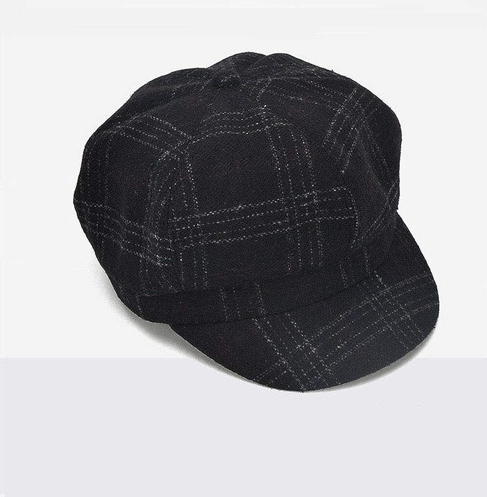 9f197ab2a65 Blmusi Newsboy Beret Hat Women Cabbie Hats Fall Visor Cap Paperboy Painter  Hat at Amazon Women s Clothing store