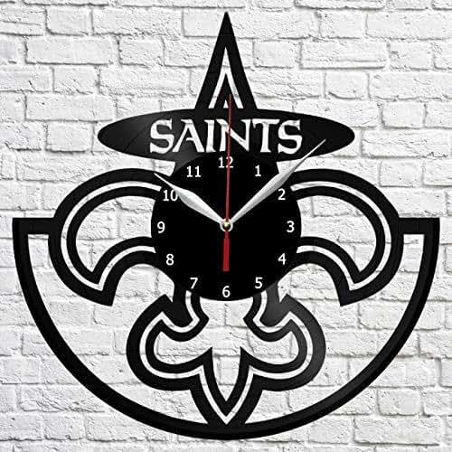 New Orleans Saints Home Decor: Amazon.com: New Orleans Saints Vinyl Record Wall Clock