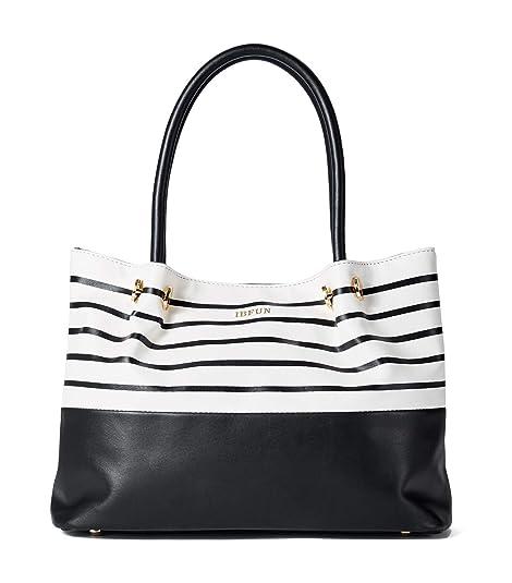 7ff31030f069 Amazon.com: IBFUN Summer Tote Bag for Women Hobo Handbag Ladies Purse PU  Leather Shoulder Bag Fashion Satchel: Shoes