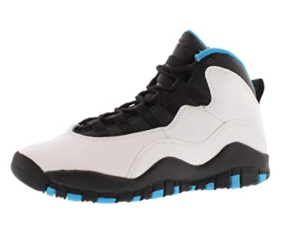 Air Jordan 10 Retro (gs) 'bleu Poudre' - 310806-106 - Taille 4,5 - Nous Taille
