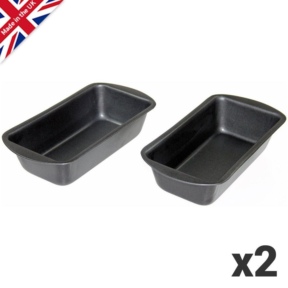 2lb Loaf Tin Twinpack, 2lb (900g) Capacity British Bakeware