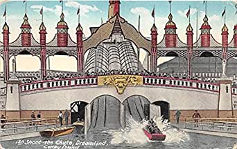amazon store card shoot the chute dreamlandconey island new york ny usa 10040