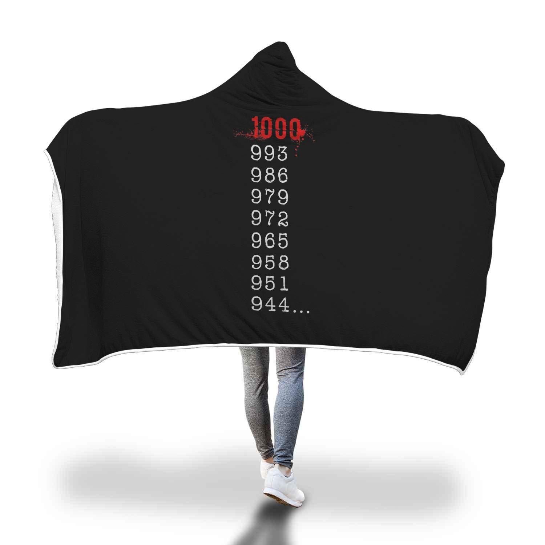 何1000マイナス7? 東京喰種トーキョーグール風スーパーソフトシェルパフリースフード付きブランケット Youth B07L1G5PVY 60\ Youth 60
