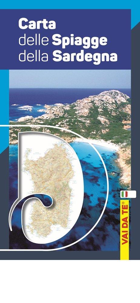 Sardegna Cartina Spiagge.Carta Delle Spiagge Della Sardegna Con Custodia Ediz Illustrata Amazon It Aa Vv Libri