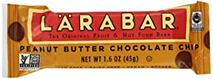 FREE SAMPLE - Larabar Fruit & Nut Bar, Peanut Butter Chocolate Chip (Free with purchase of a qualifying item)