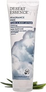 product image for Desert Essence Fragrance Free Hand & Body Lotion - 8 Fl Ounce - Soothing - Aloe Vera - Shea Butter - Green Tea - Coconut Oil - Jojoba Oil