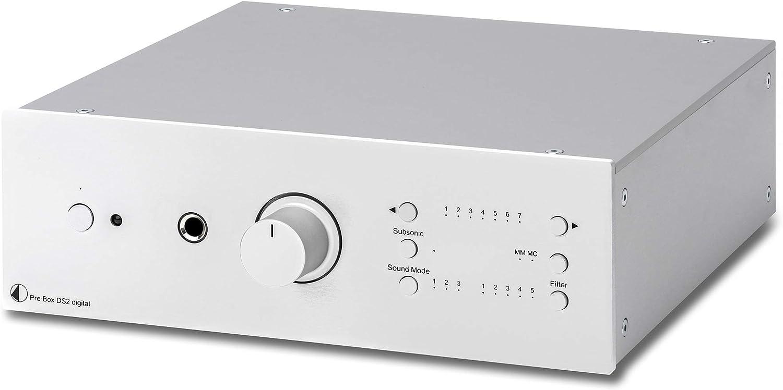 Pro Ject Pre Box Ds2 Digital Silver Elektronik