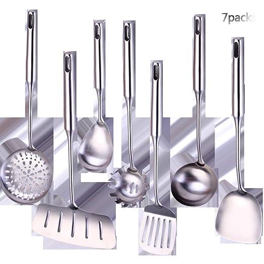 Juego de utensilios de cocina acero inoxidable, duradero ...