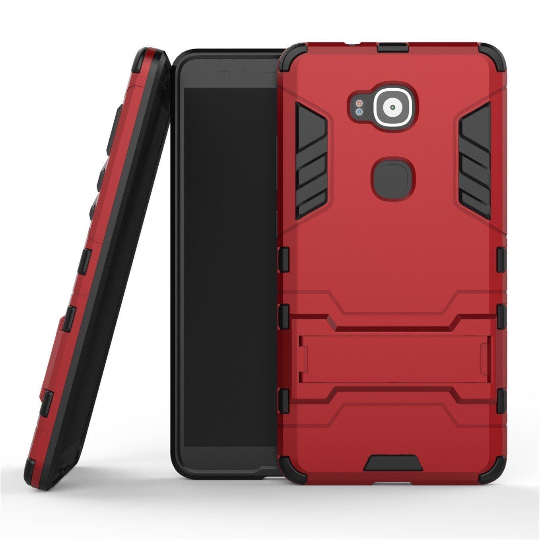 official photos 7da3a e1cbd Huawei G8 Case, Huawei GX8 Hybrid Case, Dual Layer Protection Hybrid Rugged  Case Hard Shell Cover with Kickstand for 5.5'' Huawei G8, Huawei GX8