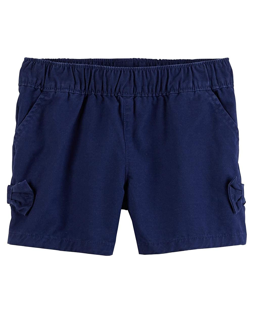 Carters Baby Girls Easy Pull-On Bow Shorts Navy Blue