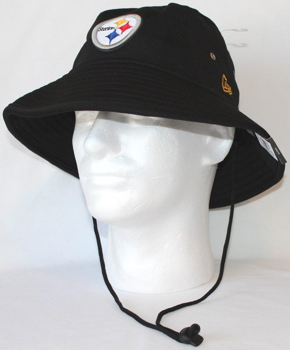 3a45b8dc7 Pittsburgh Steelers New Era NFL Team Bucket Redux Performance Bucket Hat   Amazon.co.uk  Sports   Outdoors