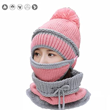 Cappello Donna Berretto Invernale Cuffia Inverno Maglia
