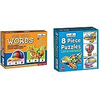 Creative Educational Aids P. Ltd. 0639 Fun with Words & Creative Educational Aids P. Ltd. 0772 Puzzles (8 Piece)
