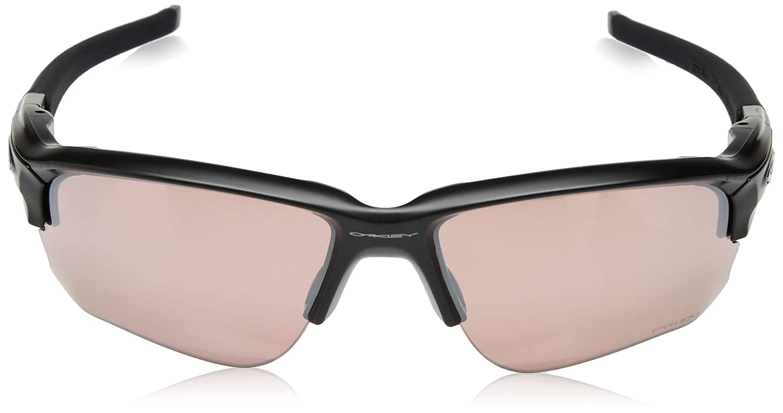 d7a2d28efde Oakley FLAK DRAFT Matte Black Prizm Dark Golf Sunglasses  Amazon.co.uk   Clothing