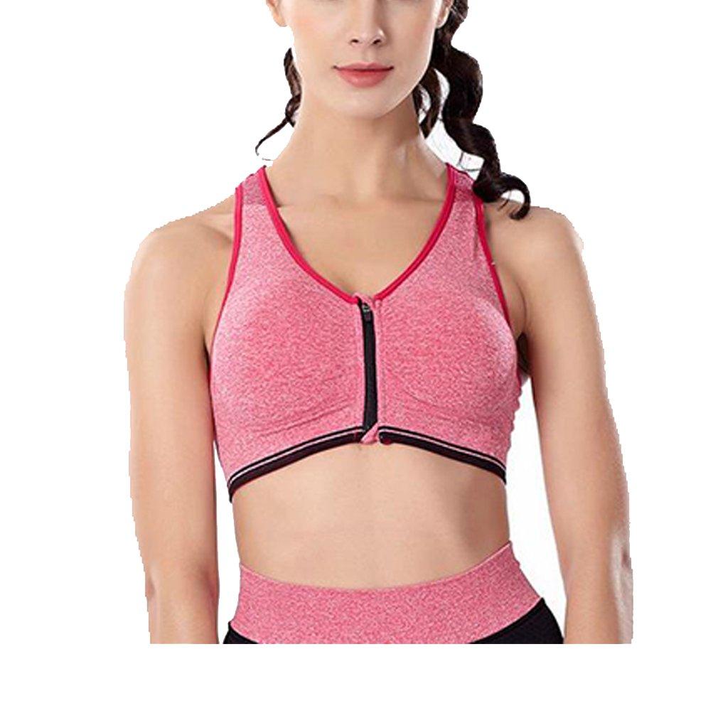 BOYANN Vest Sports Bras for Women Front Zip High Impact BOYANN E-COMMERCE CO. LTD. ZHSPBR0005