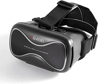 LESHP Gafas VR 3D Realidad Virtual para Smartphone, color negro ...