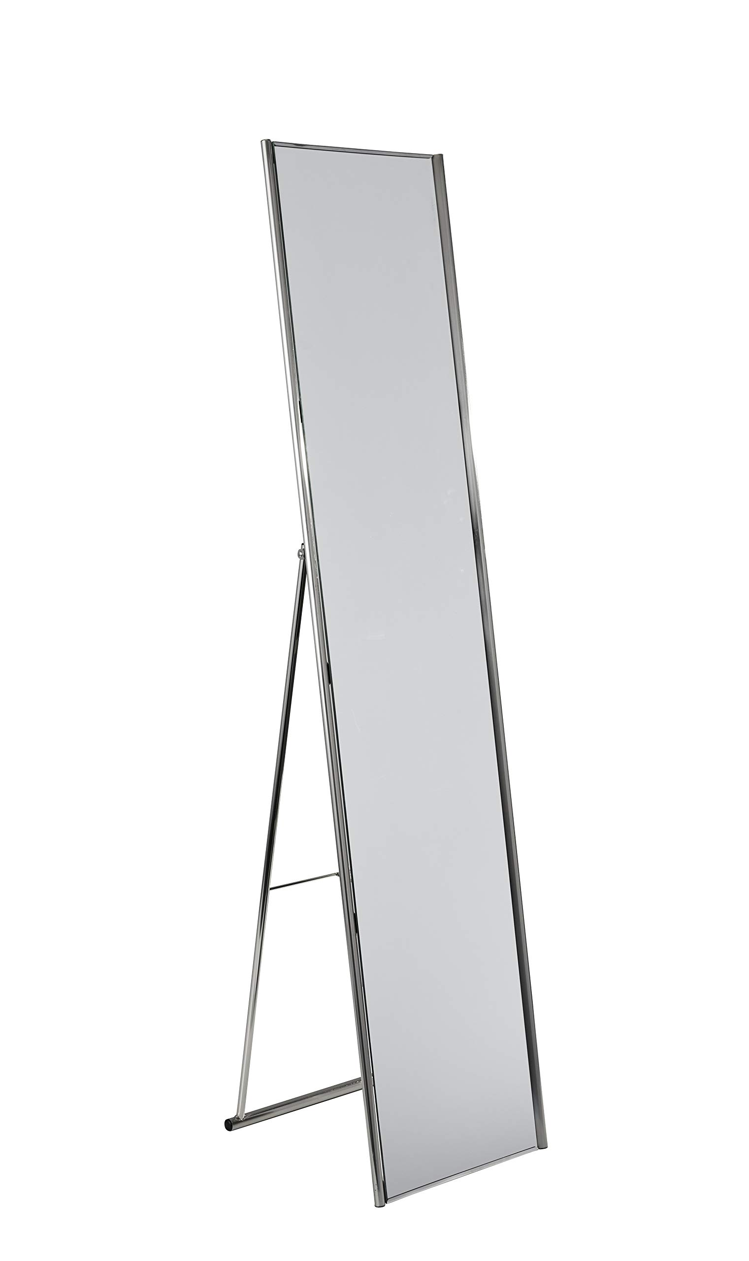 Adesso WK2444-22 Alice Floor Mirror - Powder Coated Champagne Full Length Mirror with Steel Finishing. Home Decor Accessories by Adesso