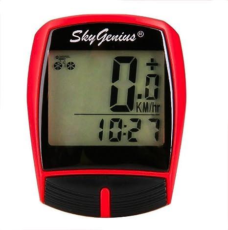 Inalámbrico ordenador de bicicleta SkyGenius multifunción ...